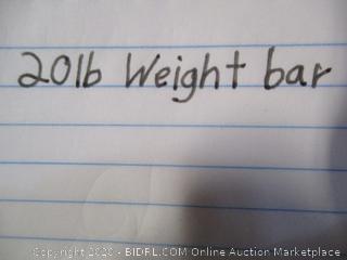 20 lb Weight Bar
