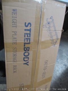Steelbody Weight Plate Storage Rack