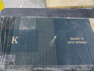 """King Smart 9"""" Box Spring"""