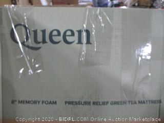 "Queen 8"" Memory foam Mattress"