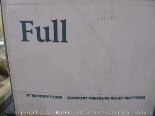 "Full 6"" Memory Foam Mattress"