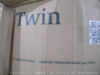 """Twin 10"""" Memory Foam Mattress"""