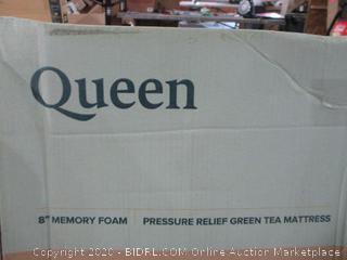 """Queen 8"""" Memory Foam Mattress"""