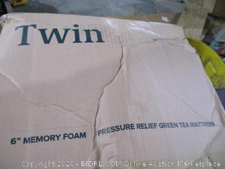 """Twin 6"""" Memory Foam Mattress"""