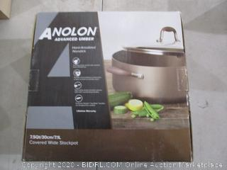 Anolon Covered Stockpot