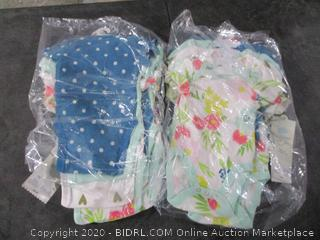 Could island 4 pack Short Sleeve Bodysuits