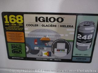 Igloo Cooler damaged