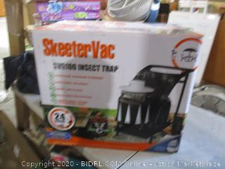 Skeeter Vac Insect Trap   Sealed Opened for picturing