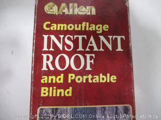 Allen Camo Instant Roof