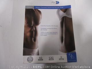 Slendertone Battery Operated Abdominal Muscle Toner