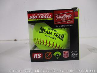 "Rawlings 12"" Fastpitch Softball"