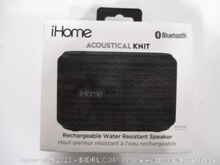 iHome Accoustical Knit Water Resist Speaker