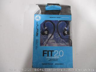 JLab Audio Fit 2.0 Earbuds