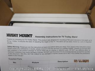 Husky Mount TV Trolley Stand