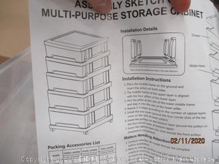 Multi Purpose storage Cabinet