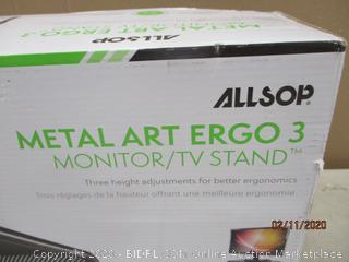 Metal Art Ergo 3 Monitor/TV Stand