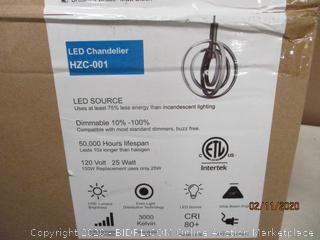 LED chandelier