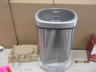Trash Can dented