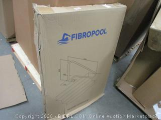 Fibro Pool Swimming Pool Hand Rail with Quick Mount Base