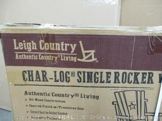 Char Log Single Rocker