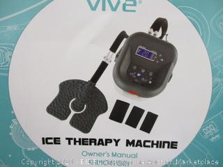 VIVE Ice Therapy Machine  Powers On