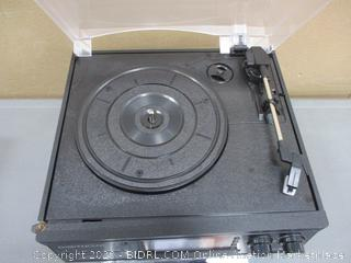 Digitnow CD,Turntable,Cassette,Aux in Radio Player Powers on See Pictures