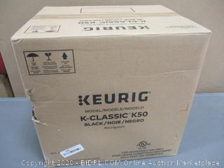 Keurig Classic K 50 powers on