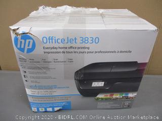 HP Office Jet Printer Powers On