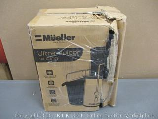 Mueller Ultra Juicer  Powers On