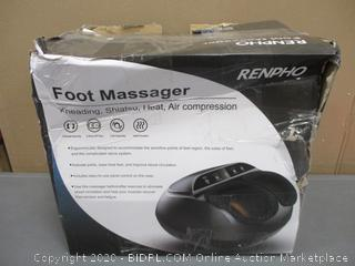 Foot massager Powers on