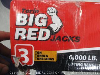Big Red 3 Ton Long Ram Jack