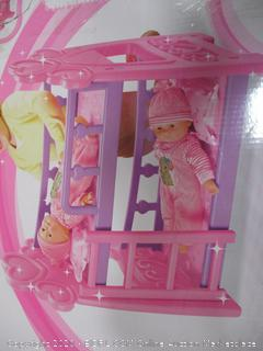 baby bunk Bed Set for dolls