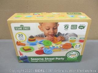 Sesame street Green Toy