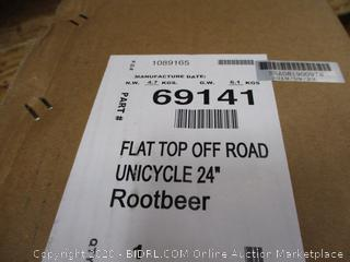 """Sun Flat Top Off Road Unicycle  24"""""""