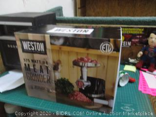Weston Meat Grinder