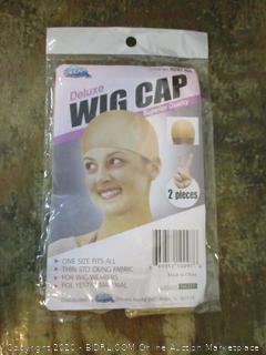 Wig and cap