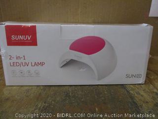 SUNUV 2 in 1 LEDUV Lamp
