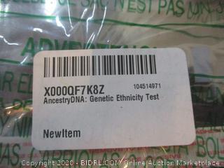 Ancestry DNA: Genetic Ethnicity Test