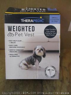 Weighted Pet Vest