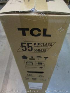 """TCL QLED 55"""" TV Powers On See Pictures"""