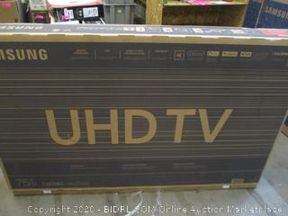 Samsung UHD TV 4K UHD Processor  Smart TV  Power On See Pictures