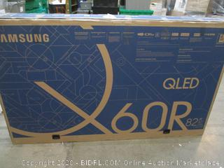 "Samsung QLED 60R 82""  Powers on See Pictures"