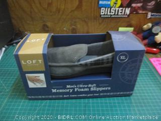Men's Memory foam Slippers XL