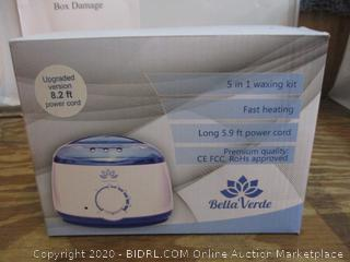 Bella Verde Professional Waxing Kit  / condition of box may vary