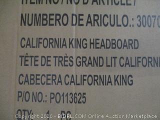 Cal King Headboard