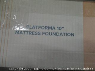 "Zinus Platforma 10"" Mattress foundation Queen"