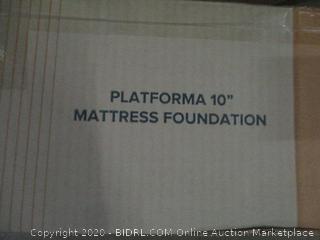 """Zinus Platforma 10"""" Mattress Foundation  Queen"""
