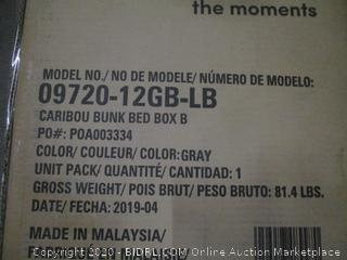 Storkcraft Caribou Bunk Bed box B Incomplete set
