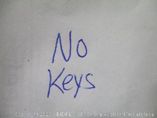 File Cabinet No Keys