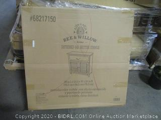 Bee & Willow Distressed Oak Shutter Console